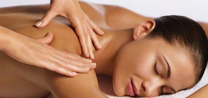 До 7 сеансов массажа спины и шейно-воротниковой зоны в студии красоты «Flex»