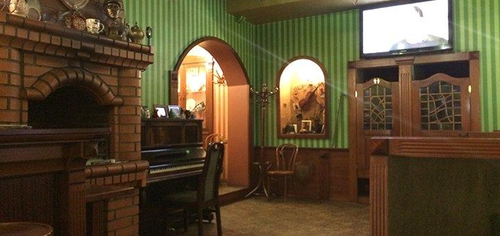 Скидка 50% на меню кухни в кафе «Sherlock»