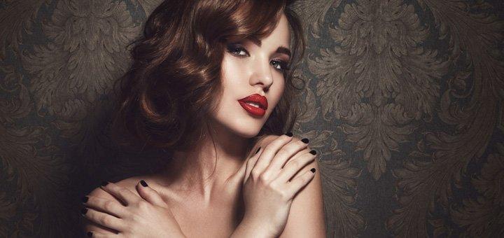 Стрижка, укладка и окрашивание волос в салоне красоты «Стиль»