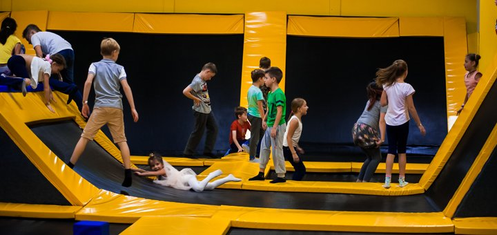Входной билет в детский парк развлечений «JOY LAND»