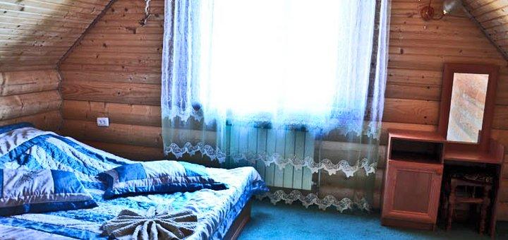От 3 дней отдыха с двухразовым питанием и посещением бани в комплексе «Соломія» в Микуличине