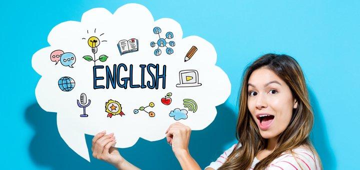 До 20 занятий курса фундаментального английского от школы английского языка «Kiwi English»