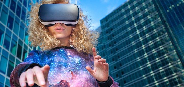 Скидка 50% на игры в клубе виртуальной реальности «VR PORT»