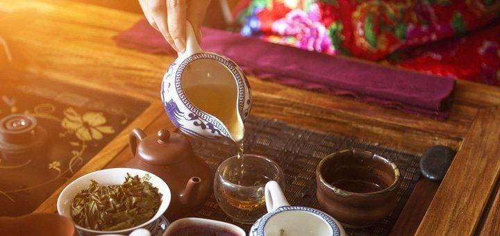 Китайская чайная церемония с дегустацией лучших сортов китайского чая в «Ча Дао»