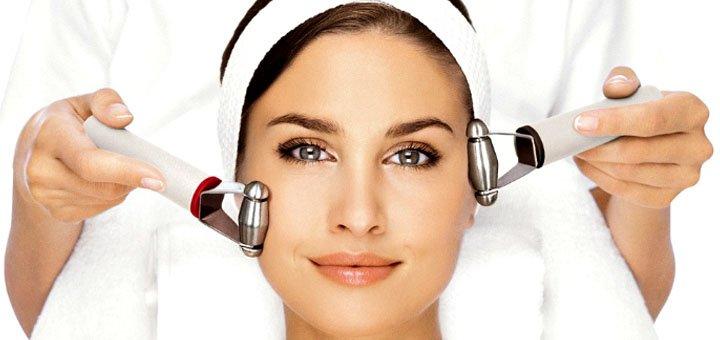 До 7 сеансов микротоковой терапии лица и шеи в студии красоты «KrisStyle»