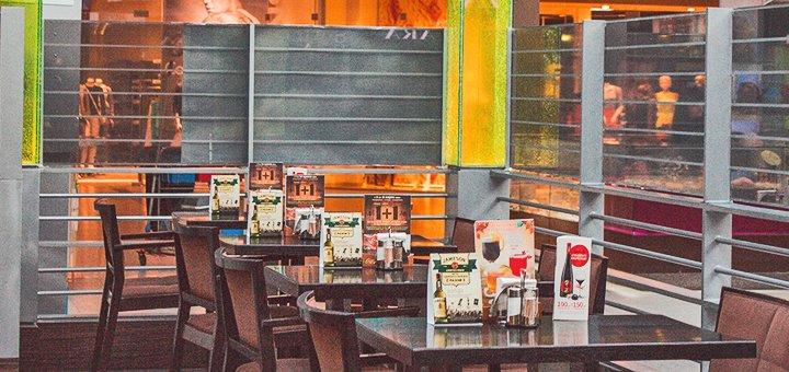 Скидка 50% на все блюда, бургеры и пиццу в ресторане «Атриум»