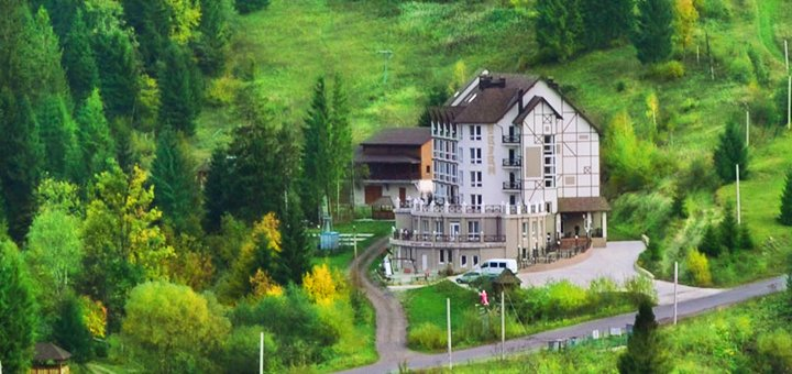 От 4 дней отдыха с двухразовым питанием в отеле «Терем» в Славском