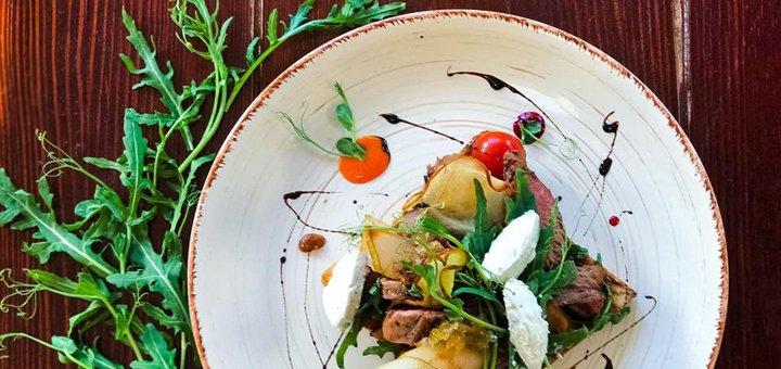 Скидка 30% на меню кухни, бара в ресторане «Hay Loft» на ВДНХ