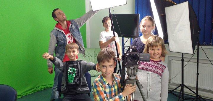 Экскурсия для детей на телевидение со съемкой видеоролика от студии «Вместе»
