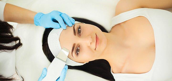 Ультразвуковая чистка лица с дополнительным уходом от косметолога Ларисы Черненькой