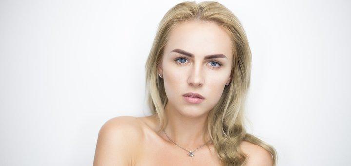 До 3 сеансов коррекции и окрашивания бровей у косметолога Ларисы Черненькой