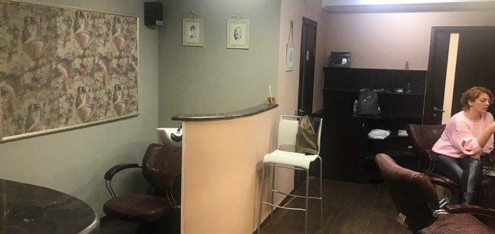 Стрижка, укладка и шоколадная spa-программа для волос в салоне красоты «Beauty studio AY»