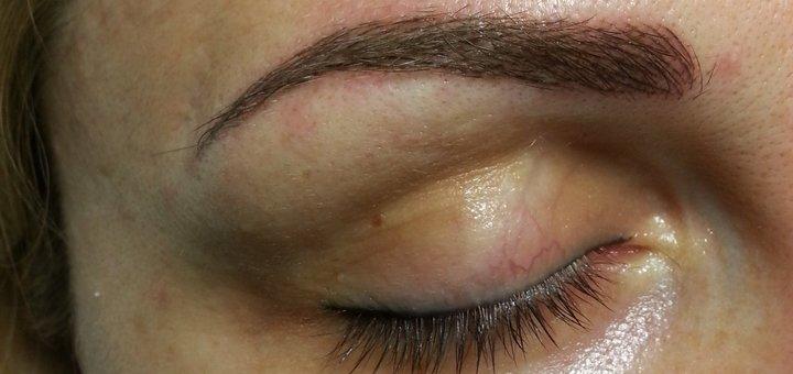 Микроблейдинг бровей или пудровые брови в студии перманентного макияжа «Micropigmentation»