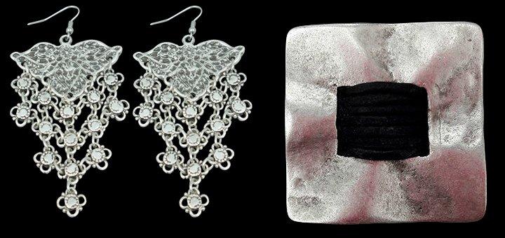 Скидка 10% на все изделия с серебряным покрытием брендовой бижутерии «Osmanli taki»