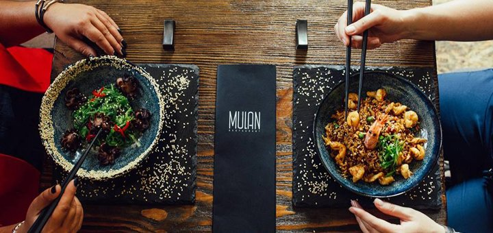 Фирменные блюда на выбор от ресторана «Mulan» на Подоле