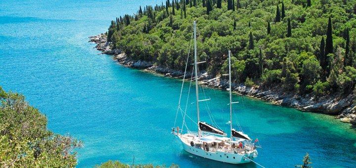Скидка 20% на путешествие на парусной яхте по островам Греции от компании «Active Life»