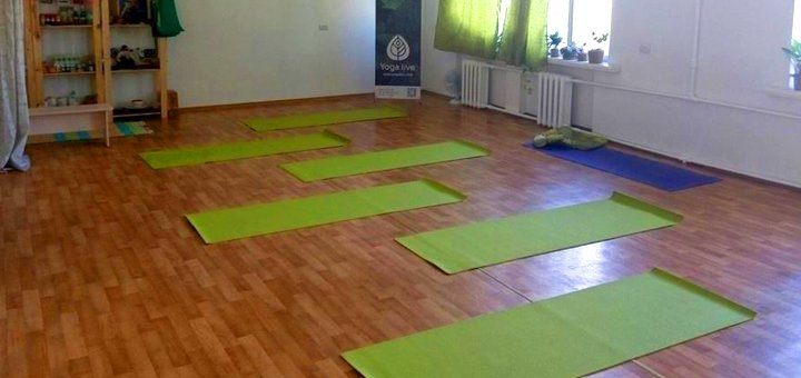 До 3 месяцев занятий кундалини-йогой в студии йоги «Yoga Live»