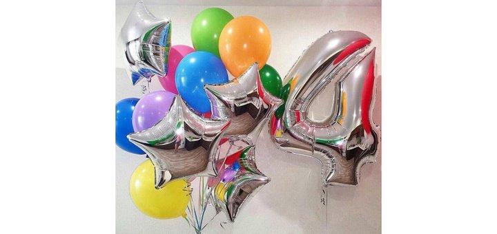 Скидка 30% на подарочный набор из шаров от «E-motions»