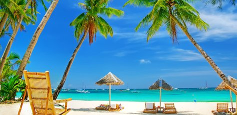 красивый-пляж