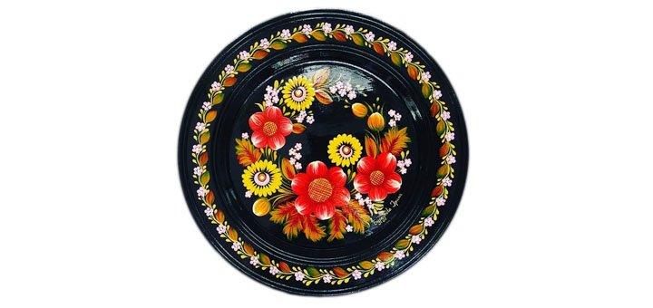 Мастер-класс по росписи тарелки в петриковском стиле от творческой студии «Безмежність»