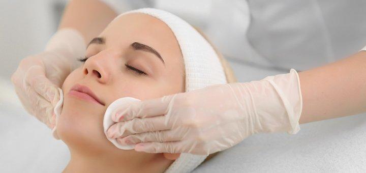Скидка до 60% на комбинированную чистку лица в косметологическом кабинете Татьяны Бондарь