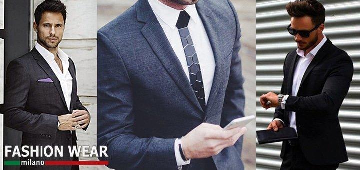 Мужские костюмы от 2795 грн., рубашки, аксессуары. Скидки до -70% + Бесплатный Подарок!