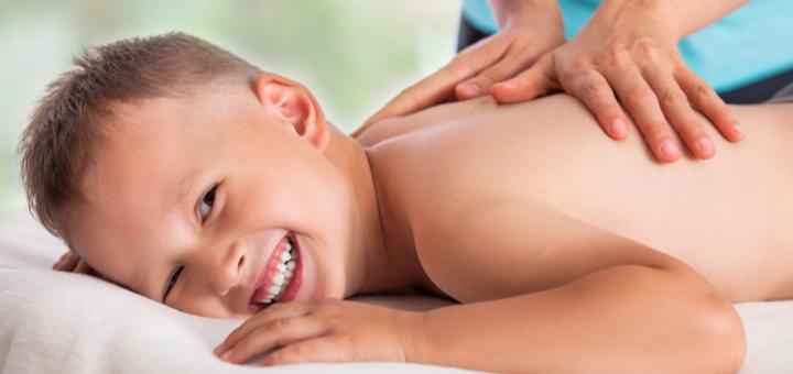 Сеанс массажа для детей от 3 лет в студии красоты «Нова-Я»