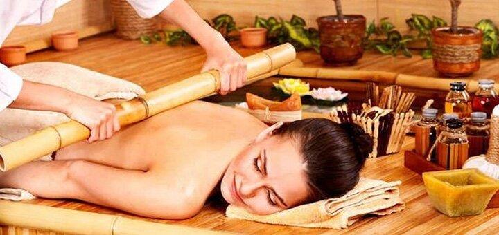 До 10 сеансов креольского массажа бамбуковыми палочками от «AntiSalon Relax»