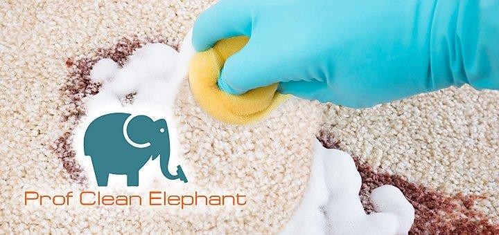 Профессиональная химчистка ковров и мягкой мебели специалистами компании «Prof Clean Elephant» всего от 199 грн.!