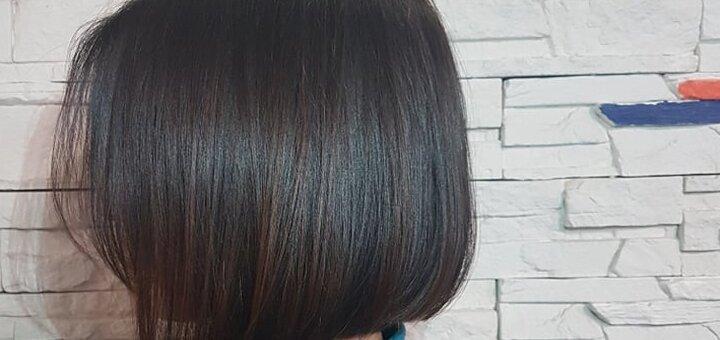 Стрижка кончиков, окрашивание и укладка волос в салоне красоты «Fargo»