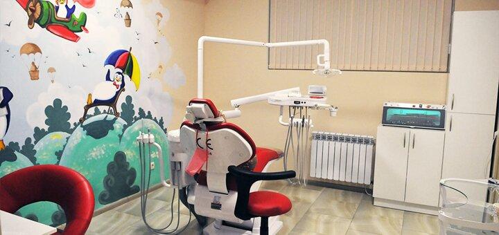 Панорамный рентгеновский снимок челюстей, консультация стоматолога-терапевта в «Денталия»