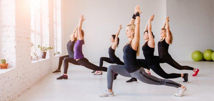 До 6 месяцев занятий пилатесом в фитнес-клубе «S-club Fitness»