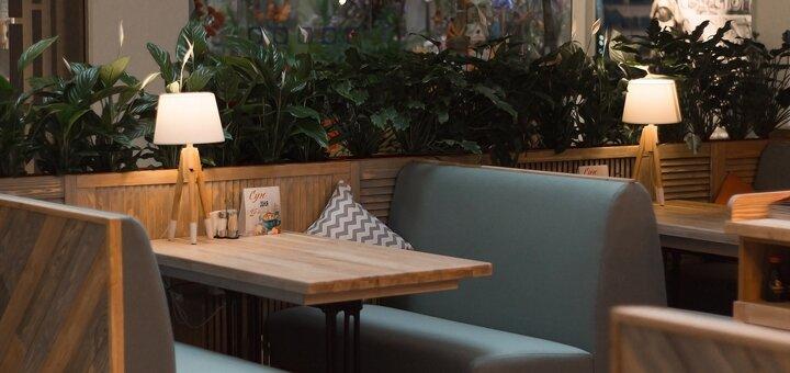 Скидка 50% на пиццу, суши-сеты, салаты и десерты в «Grande Gourmande» в ТРЦ «Даффи»