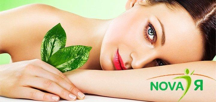 Испанский массаж лица, шейно-воротниковой зоны, плеч и декольте в салоне аппаратной косметологии «Nova Я»!