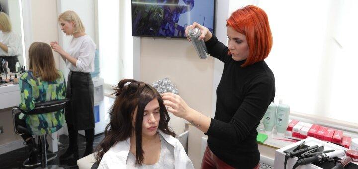 Мужская или женская стрижка любой длины, вечерняя причёска в студии «AVRA beauty studio»