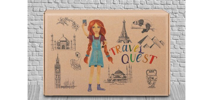 Скидка 20% на квест в коробке «Travel quest»!
