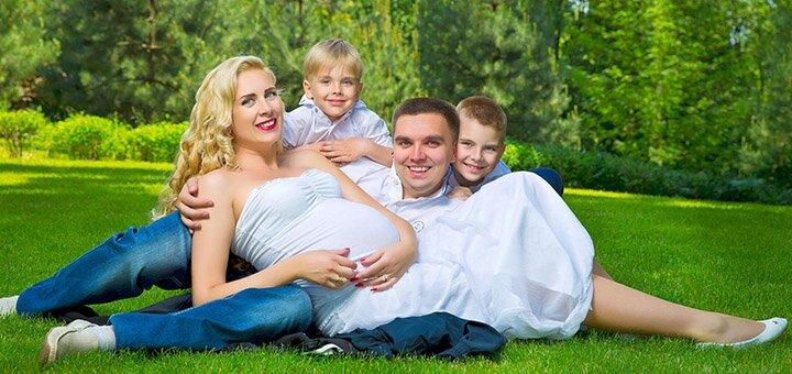 Выездная или студийная семейная, детская фотосессия от фотографа Татьяны Литвинчук