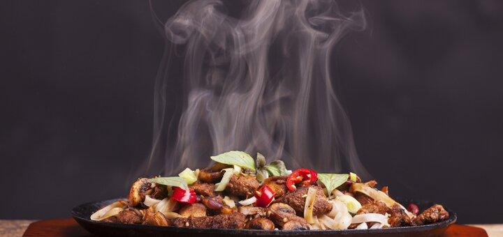 Скидка 50% на меню кухни и кальяны в ресторане «BN restaurant»
