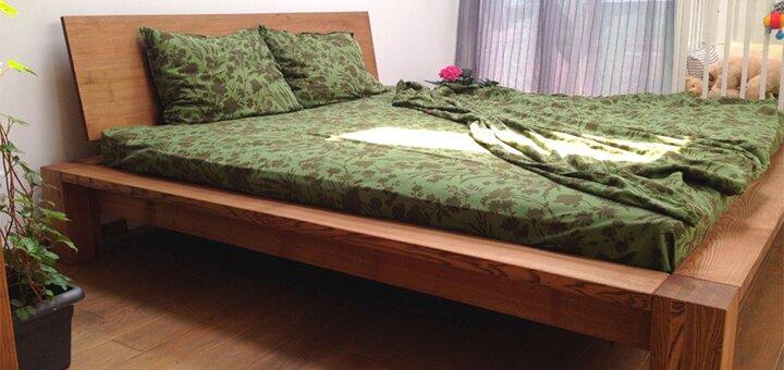 Скидка 5% на кровати от «GOOD WOOD»