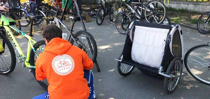 Скидка 55% на прокат велосипедов на ВДНХ (центральный вход) от компании «Velolife»