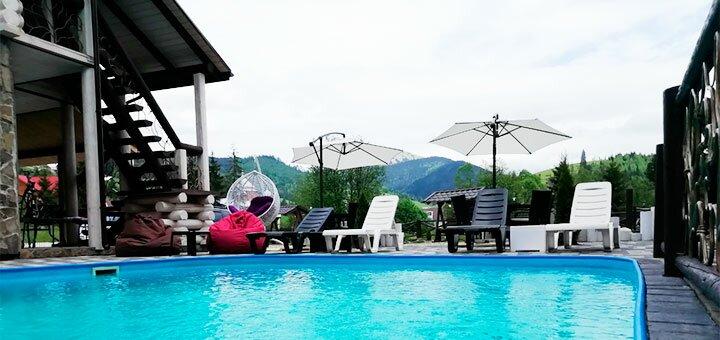От 3 дней летнего отдыха в отеле «Whiteberry» в Буковеле