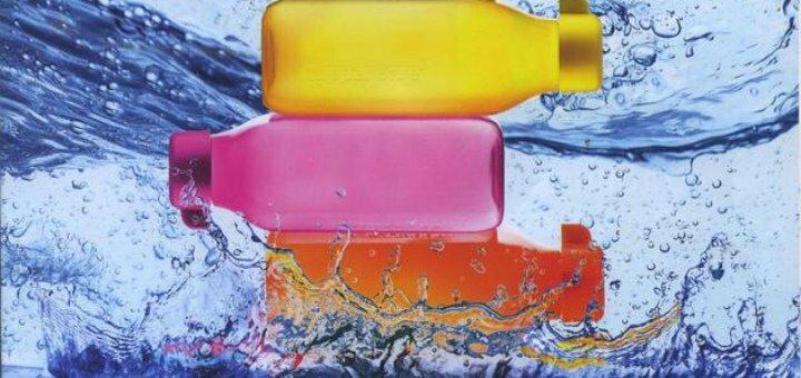 Скидка 37% на набор эко-бутылок (500мл) с клапаном и винтовой крышкой
