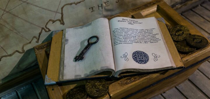 Відвідування квест-кімнати «Пірати Карибського моря: Скриня мерця» від «Genius Quest»