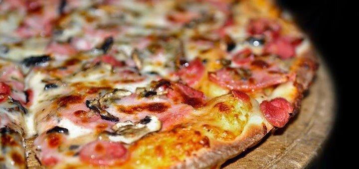 Скидка 50% на меню кухни, суши, пиццу с доставкой или самовывозом от «Juicy»