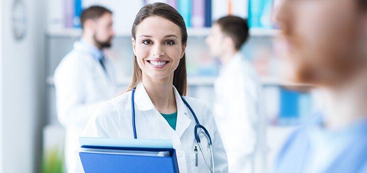 Обследование у гинеколога в медицинском центре «Мерилайф»