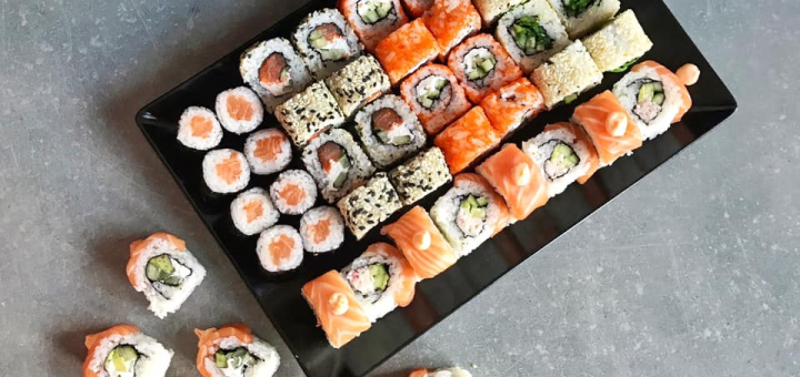 Скидка 50% на суши-сеты «Киото» и «Икагай» от сети суши-магазинов «Суши Мастер»