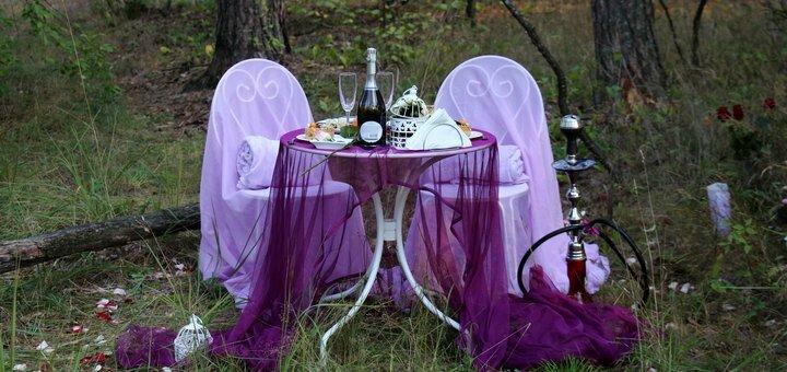 Скидка 15% на романтический ужин у водопада в тропическом лесу от «Альтечо»