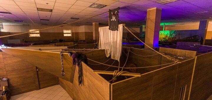 2 часа игры для 5 деток в квест-комнате «Корабль-Призрак»