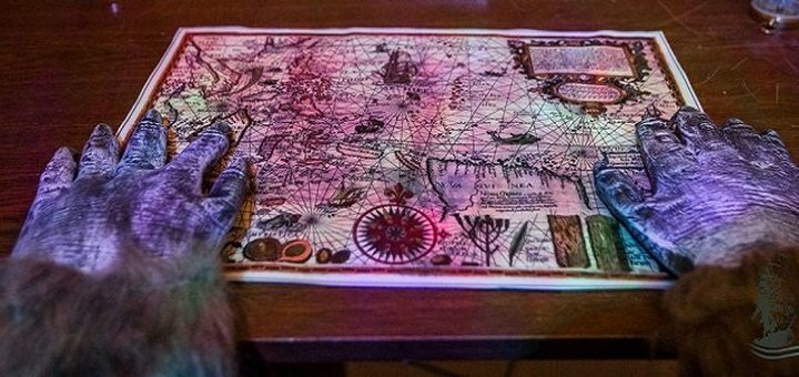 Участие в трехчасовой квест-игре «Корабль-призрак» для двоих