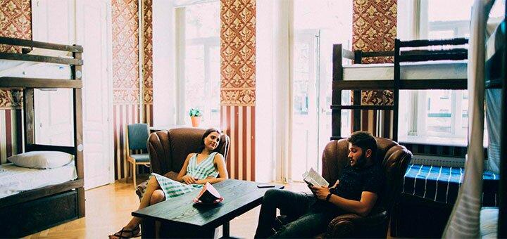 От 2 дней отдыха осенью, на Новый год и зимой в «Kosher Hostel» в центре Одессы